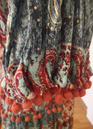 Платтяной костюм, 38-40, г-90, талия юбки -85, длина блузы 57, рукав 46, дл юбки 933
