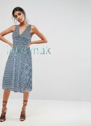 Универсальное платье миди dorothy perkins uk 14