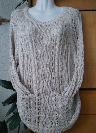 Интересный свитер для молодых и стильных, из коллекции indigo
