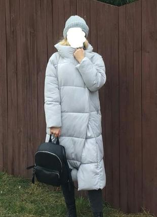 Зимняя куртка пуховик одеяло mango