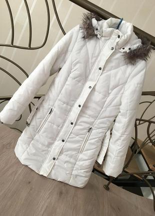 Тёплая куртка демисезонная