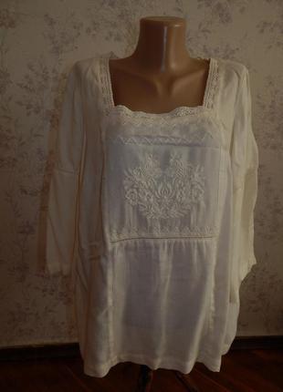 Indigo блузка вискозная стильная модная р18