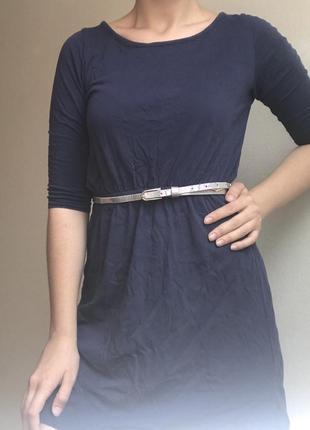 Лёгкое платье из трикотажа