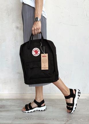 Рюкзак канкен fjallraven kanken сумка портфель classic класик 16 л черный5 фото