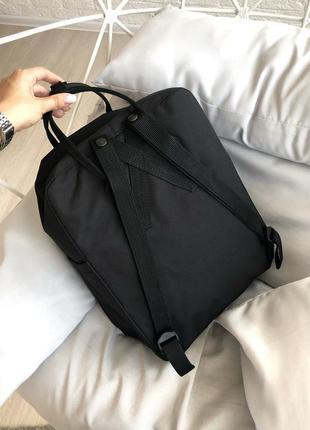 Рюкзак канкен fjallraven kanken сумка портфель classic класик 16 л черный2 фото
