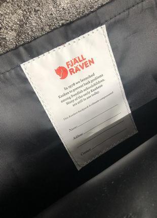 Рюкзак канкен fjallraven kanken сумка портфель classic класик 16 л черный4 фото