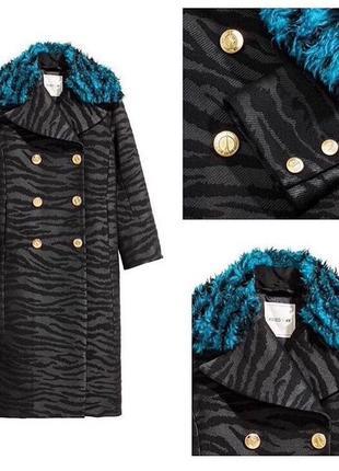 Пальто h&m х kenzo