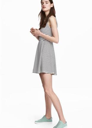 Короткое платье в полоску 🌸, сарафан