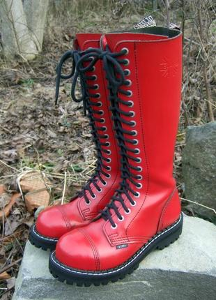 Высокие ботинки steel, uk5 / 38