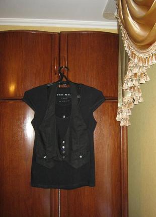 Рубашка karen millen, вискоза, размер 12