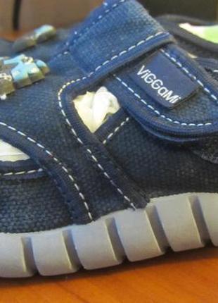 Тапочки, мокасины темно-синего цвета viggami (польша)