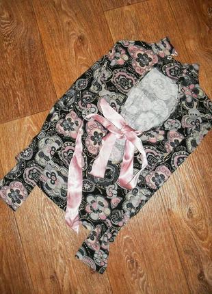 Кофта, блуза с бантом