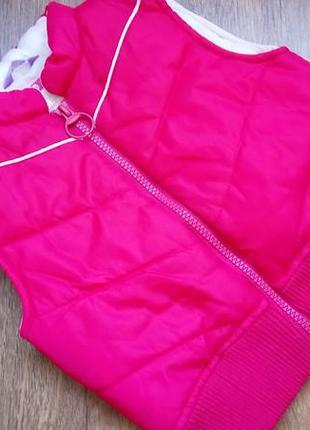 Big sale! красивая безрукавка жилет жилетка деми hema на 1-3 года