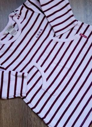 Big sale! стильное платье туника l.o.g.g на 2-4+ мес
