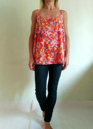 Яркая летняя блуза , майка, топ