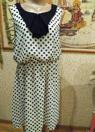 Шикарное короткое платье 50-52 размер