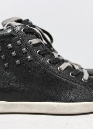 Кожаные ботинки ecco 35р.