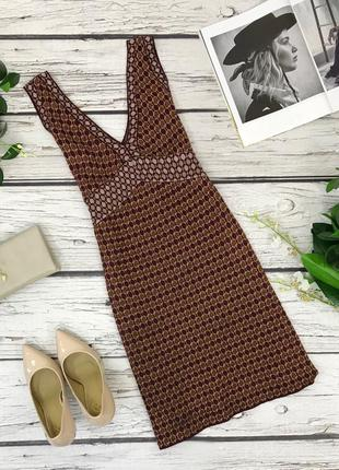 Трикотажное платье-сарафан от zara  dr1833145  zara