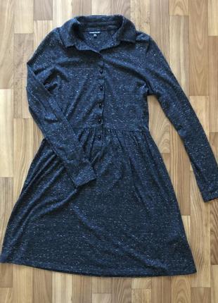 Платье с длинным рукавом warehouse