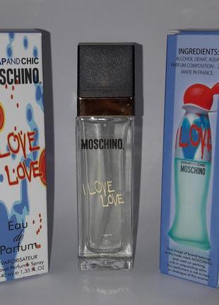 Мини парфюм i love love 40 ml