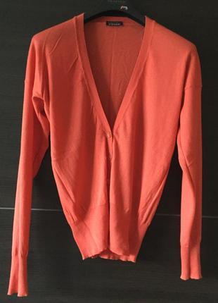 Красивый кардиган свитер хлопок кашемир