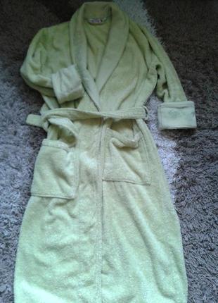 Классный махровый халат турция хлопок