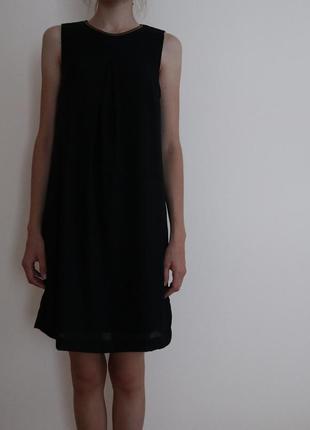 Черное,короткое платье от hm
