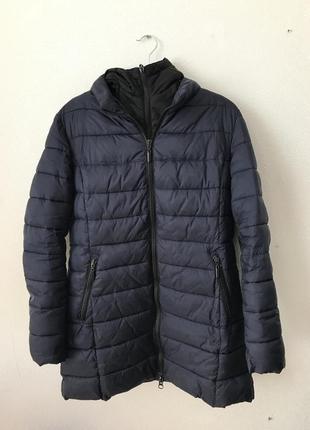 Очень тёплый зимний пуховик - курточка