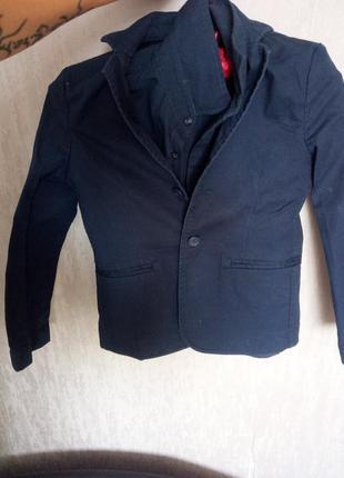 Пиджак+рубашка в школу