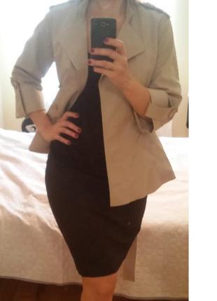 Укороченный тренч - пиджак top secret