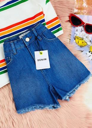 Шорты джинсовые new look
