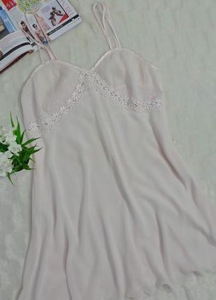 Белый пеньюар m&s, р-р uk12/eur40/ m