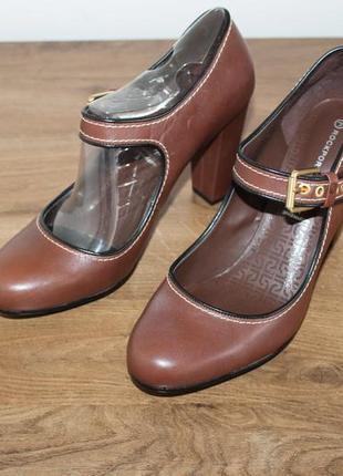 Кожаные туфли с амортизацией rockport by adidas adiprene