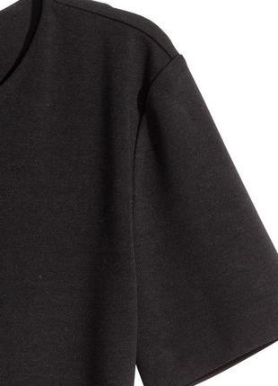 Хаки h&m трикотажное платье, s3 фото