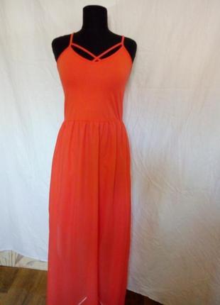 Длинное платье terranova