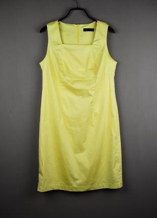 Очень красивое лимонное платье от bps selection