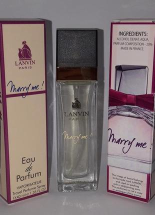 Мини парфюм marry me 40 ml