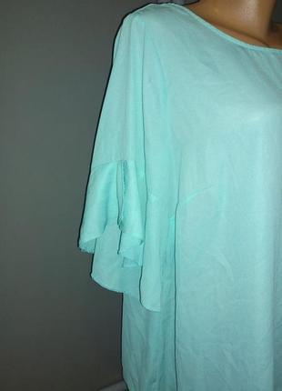 Блуза кофточка с оборками большого размера george2 фото
