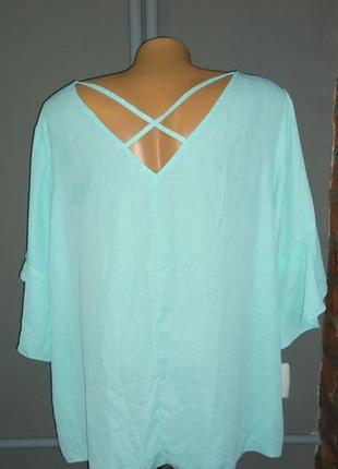 Блуза кофточка с оборками большого размера george3 фото