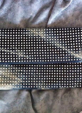 Джинсовый клатч-сумка