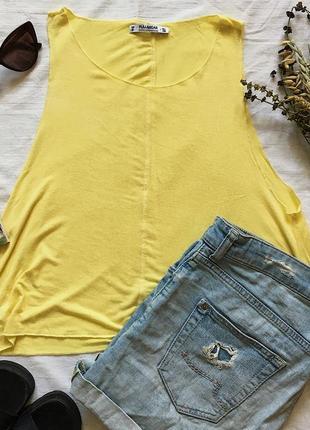 Желтый топ pull&bear