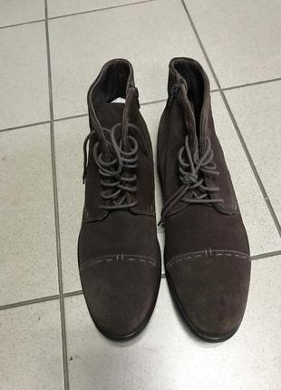 Ботинки кожаные bugatti