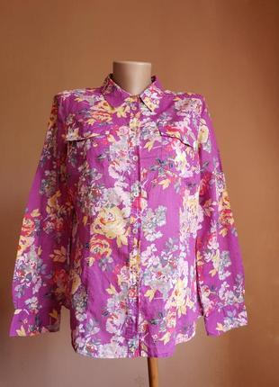 Красивая блуза хлопок marks&spencer британия