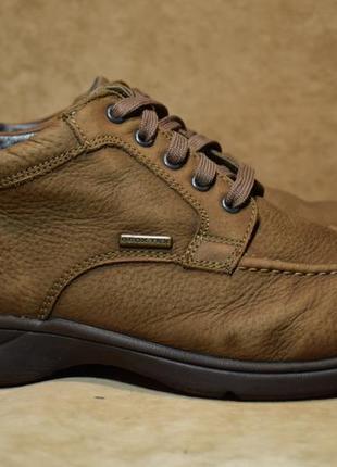 Ботинки туфли кожаные geox geox tex. оригинал. 42 р./27 см.