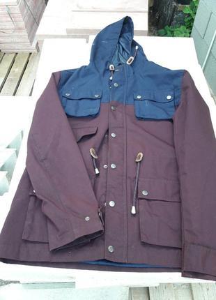 Куртка парка  fabric