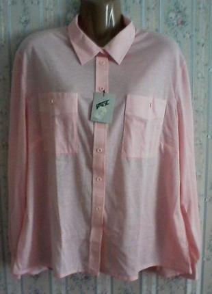 Блуза трикотажная, размер 52-54