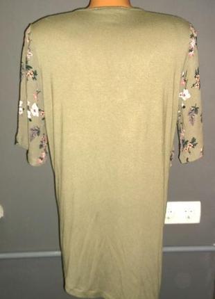 Блуза кофточка топ с драпировкой и ассиметрией marks & spencer2 фото