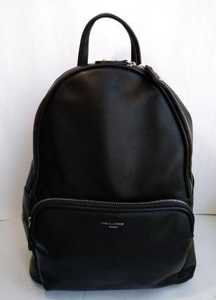 Недорогой женский рюкзак черного цвета