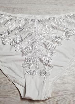 0e31cdb4ff34d Кружевные женские трусы xl белые, цена - 35 грн, #15161313, купить ...