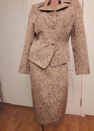 Костюм  юбка+пиджак, нина, пиджак плеч43, гру98, талия84, рук59, дл56